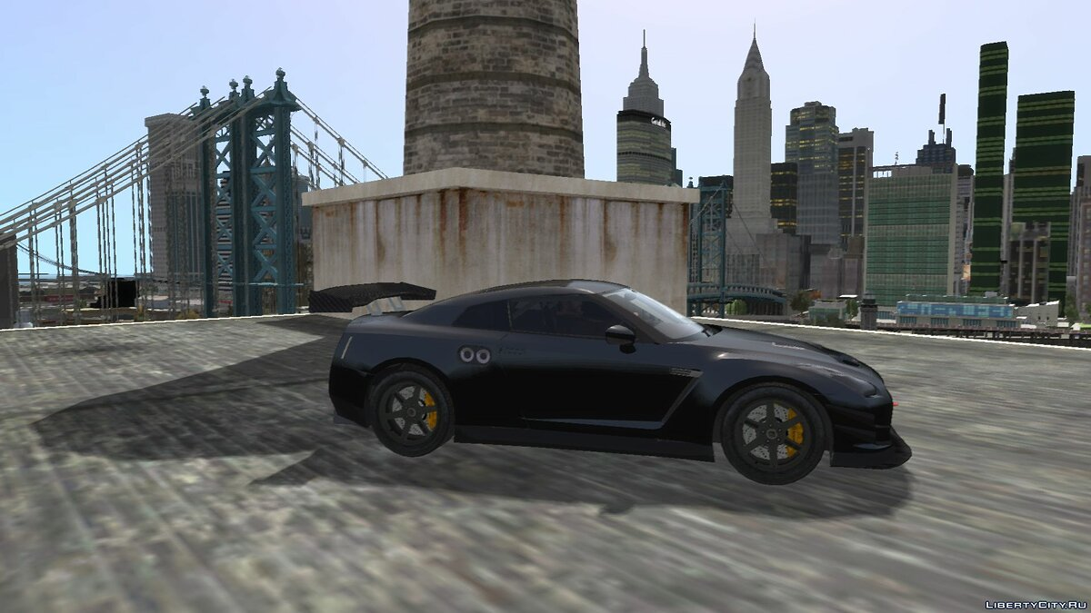 Машина Nissan Fast And Furious Nissan GTR для GTA 4