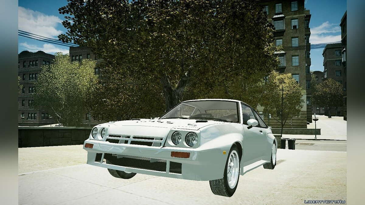 Машина Opel Opel Manta Road Version для GTA 4