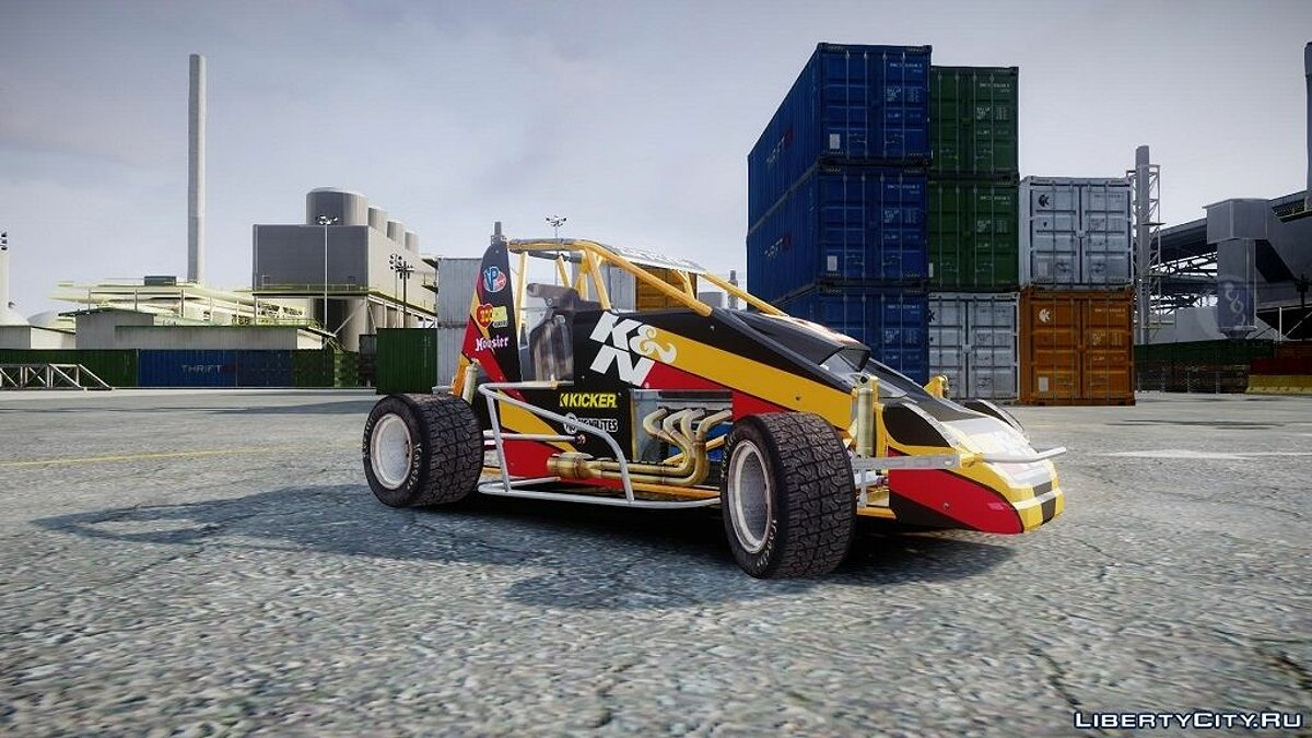 Larock-Sprinter (DiRT S) для GTA 4