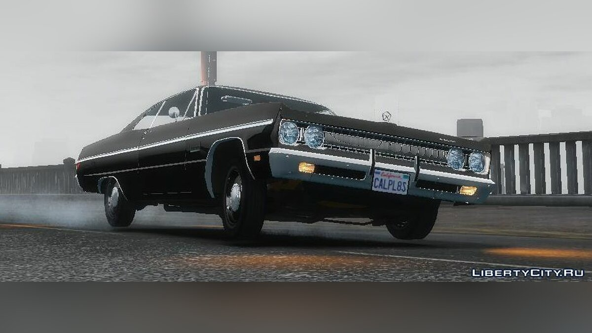 1969 Plymouth Fury III Coupe v1.0 для GTA 4