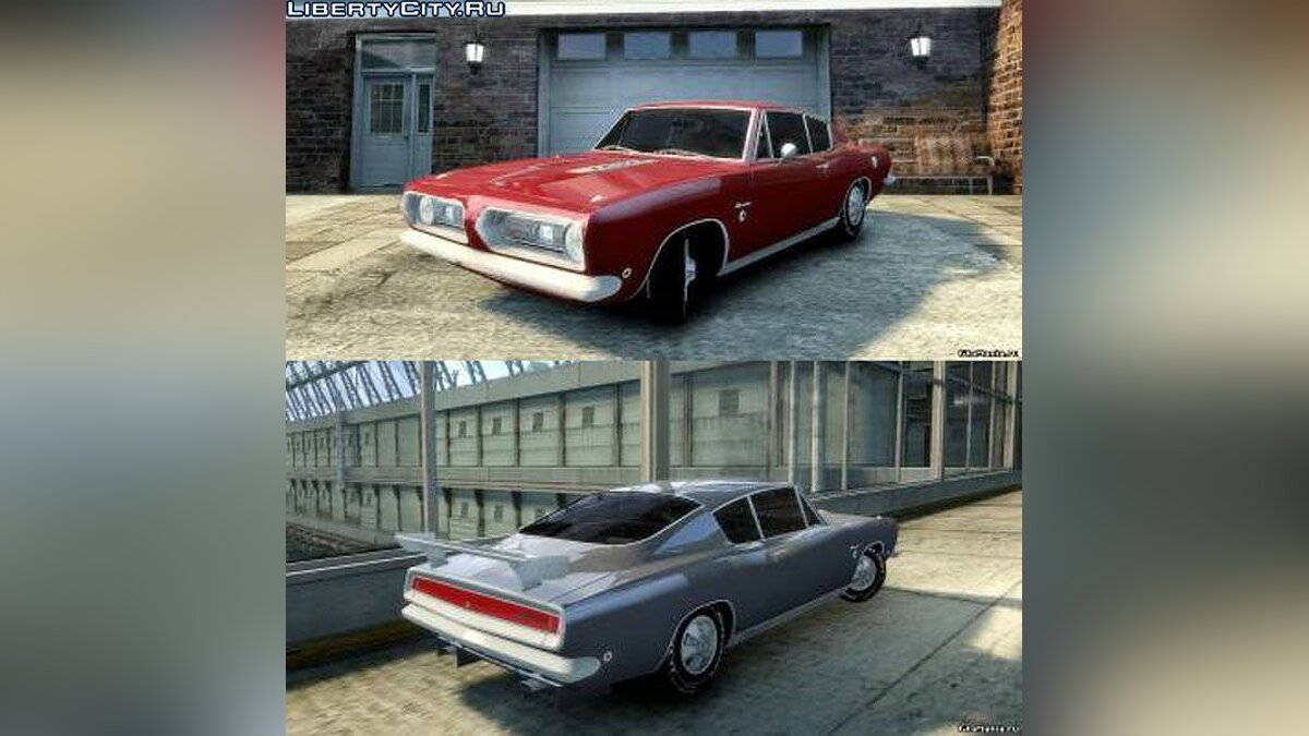 Plymouth Barracuda Formula S '1968 для GTA 4