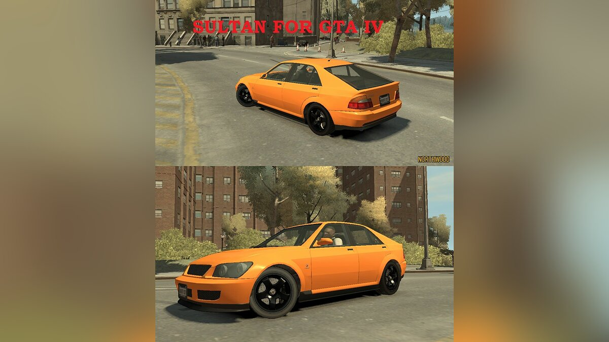 Sultan hatchback для GTA 4