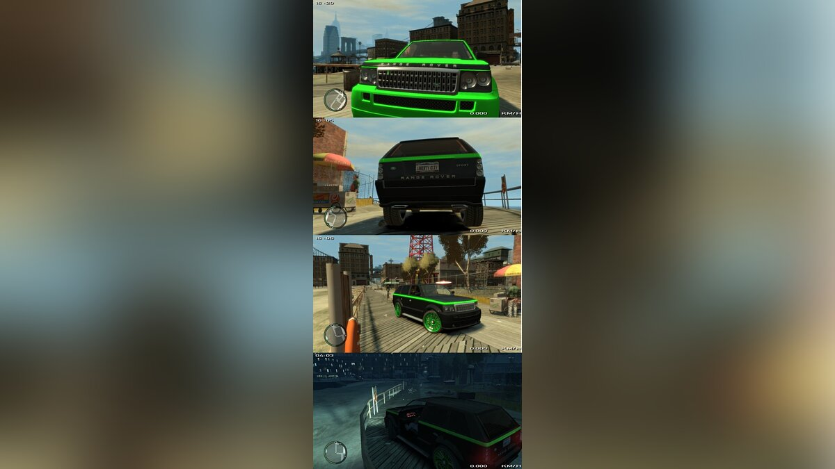 Huntley Rang Rover Sport для GTA 4
