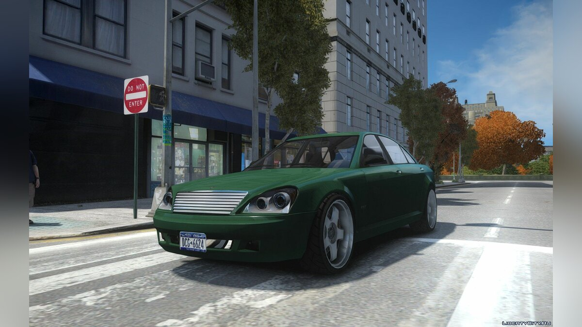 Машина Schafter Gen. 1 Grey Series для GTA 4