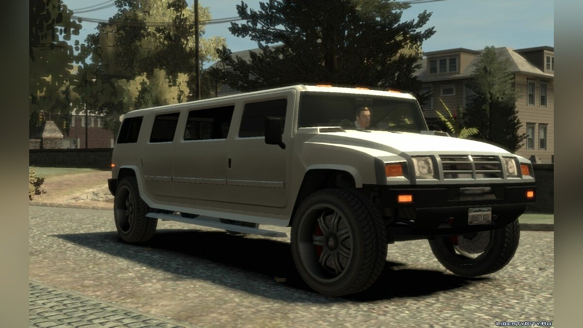 Mammoth Patriot Limousine v1.5 для GTA 4