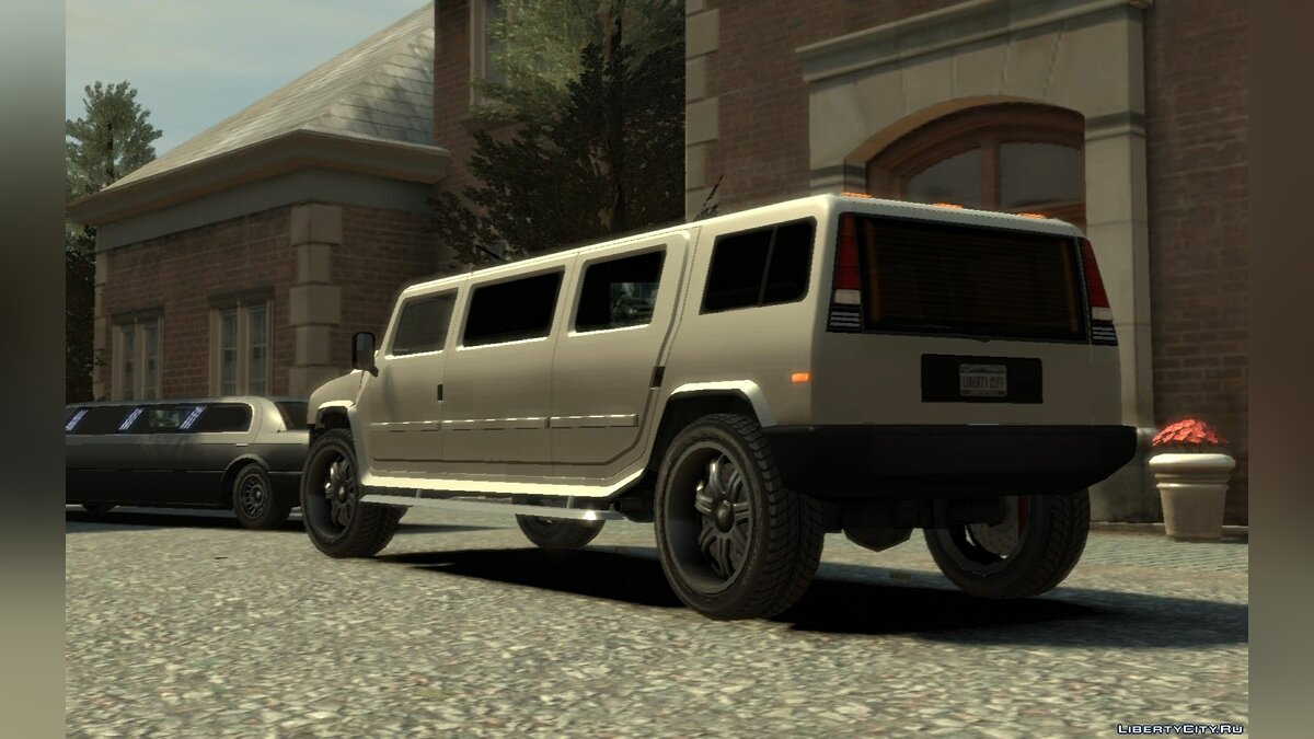 Mammoth Patriot Limousine v1.5 для GTA 4 - скриншот #2