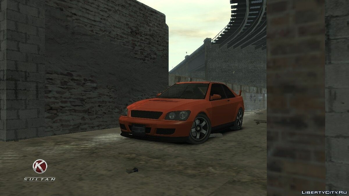 Sultan Coupe для GTA 4