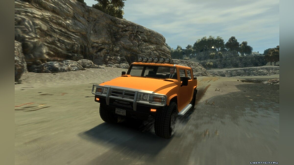 Mammoth Patriot Pickup для GTA 4