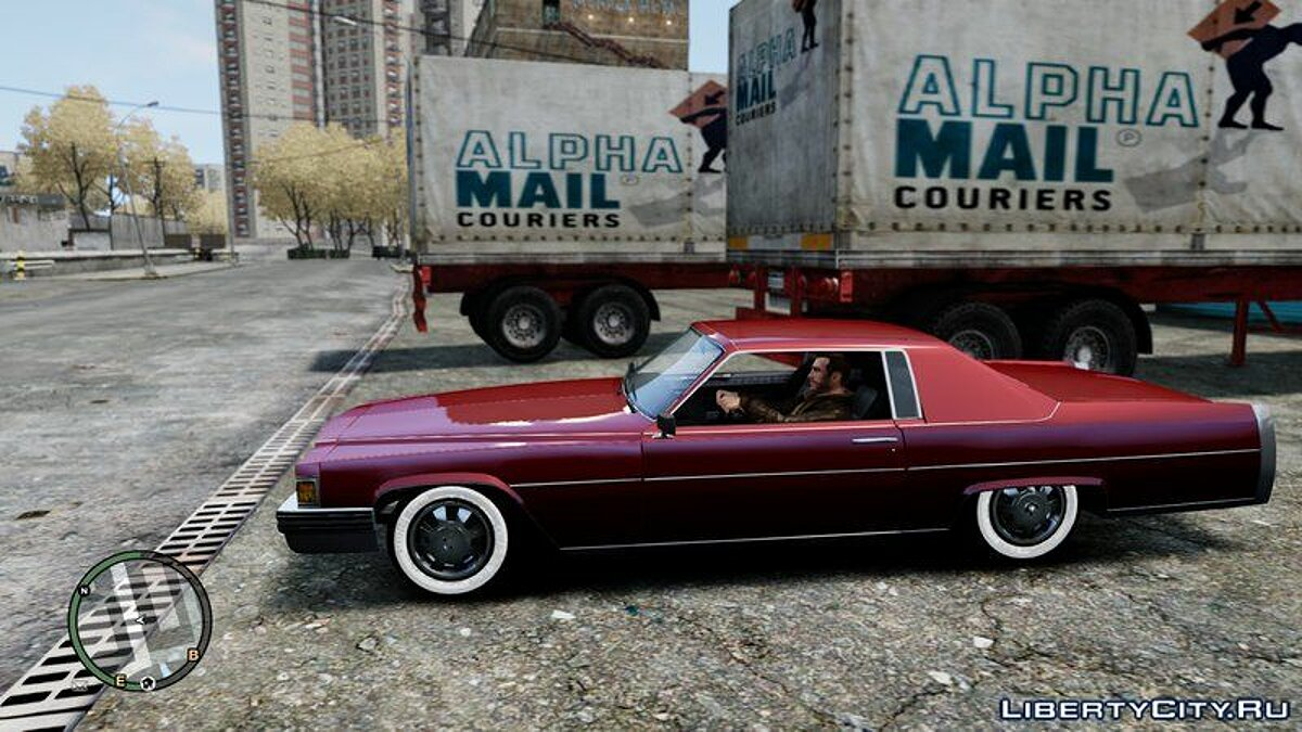Машина Emperor Coupe Convertible для GTA 4