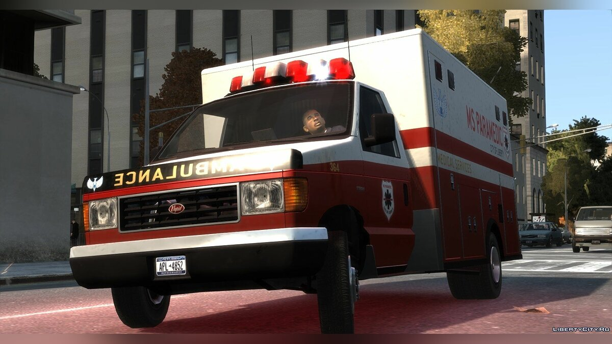 Vapid Steed Ambulance для GTA 4