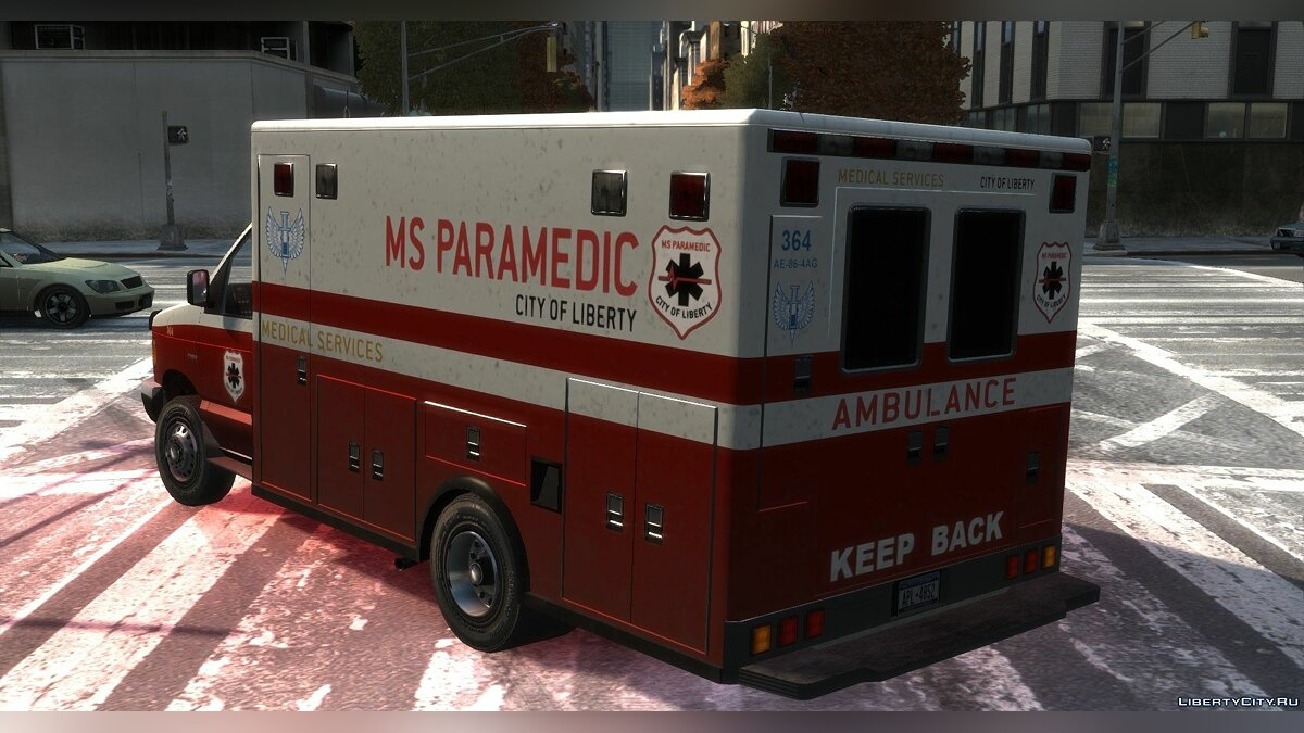 Машина Vapid Steed Ambulance для GTA 4