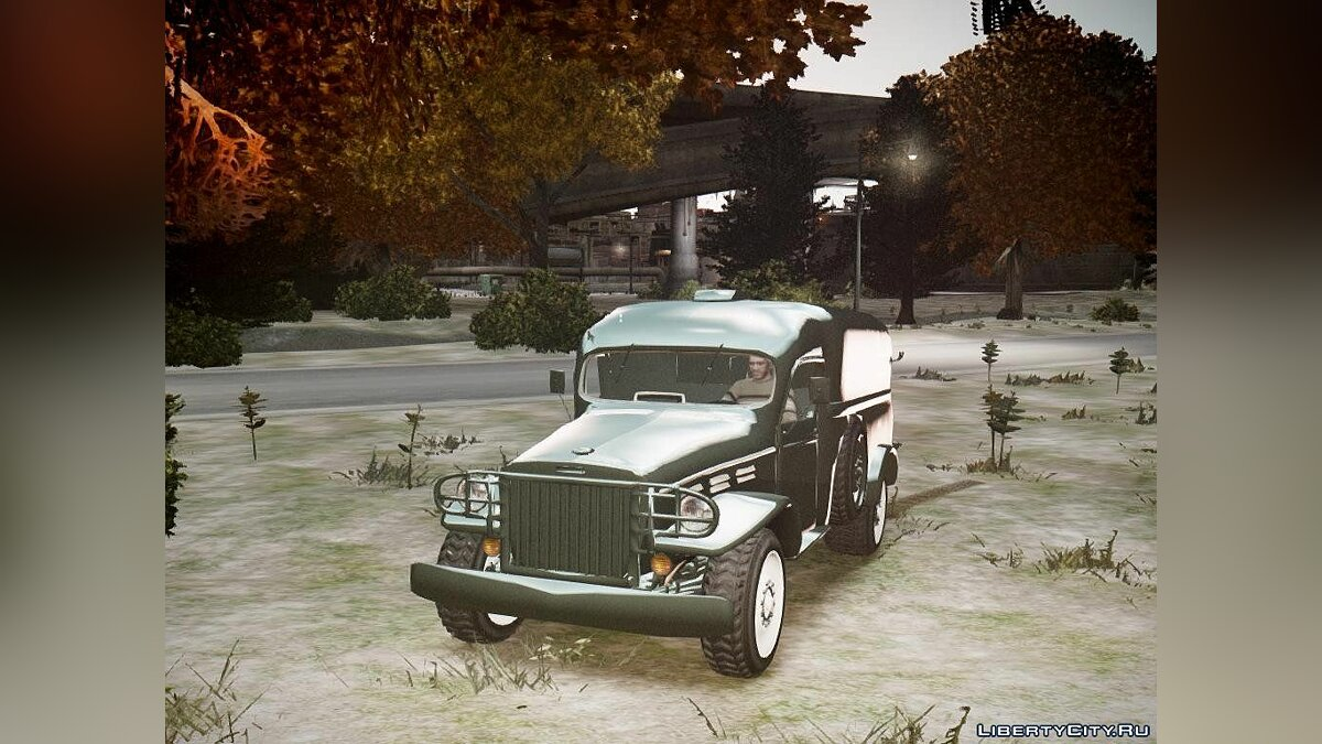 World War II - car 1.0 для GTA 4