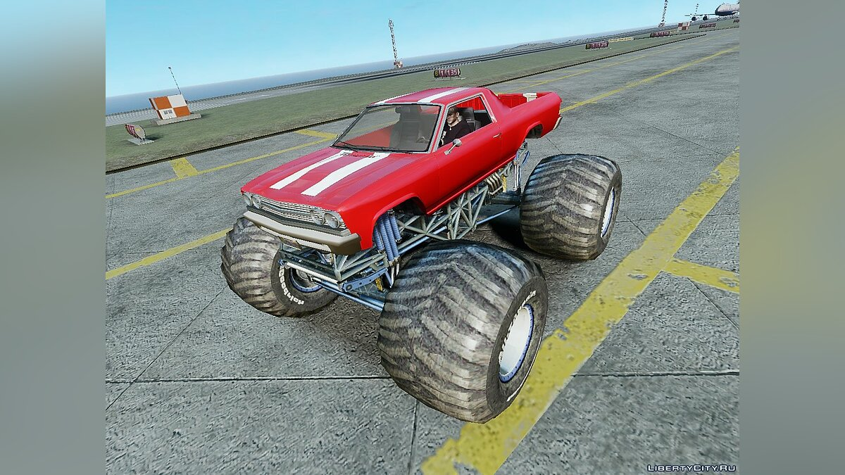 ��ашина Cheval Picador Monster Truck для GTA 4