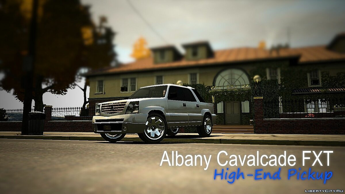 Машина Albany Cavalcade FXT Second Generation для GTA 4