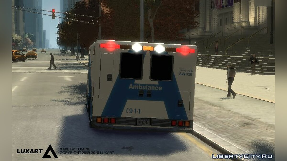 LCEMS Ambulance для GTA 4 - скриншот #2