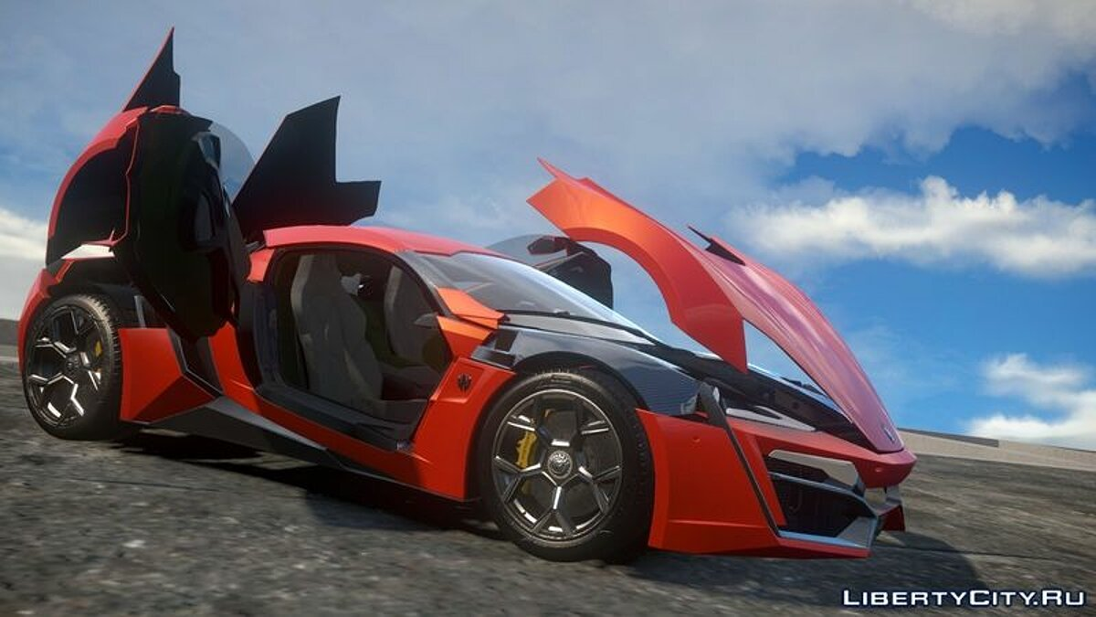 Lykan Hypersport для GTA 4 - скриншот #2