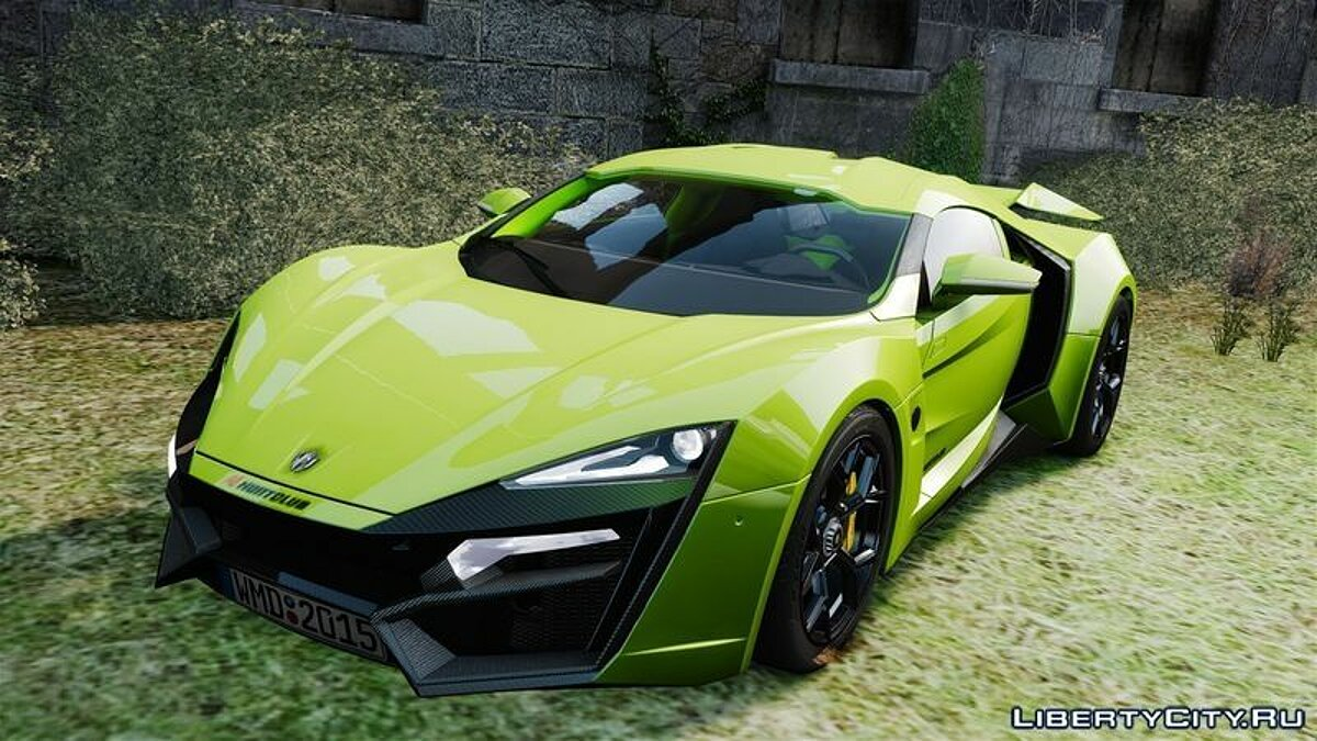 Lykan Hypersport для GTA 4