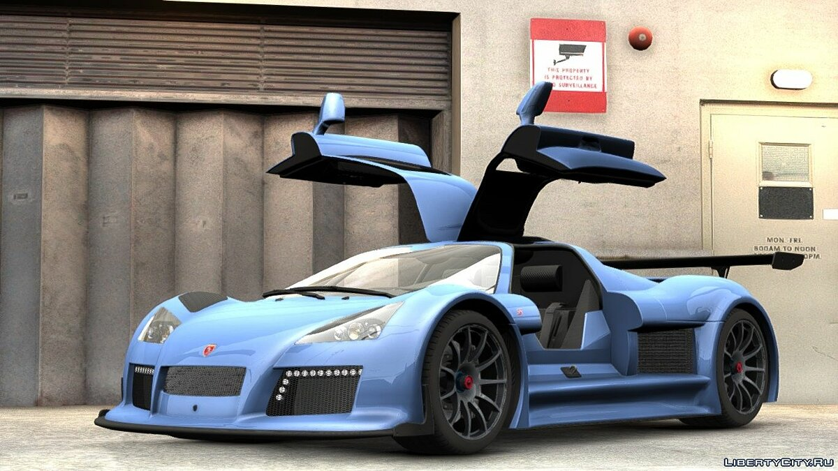 Gumpert Apollo Sport 2011 (Update) для GTA 4