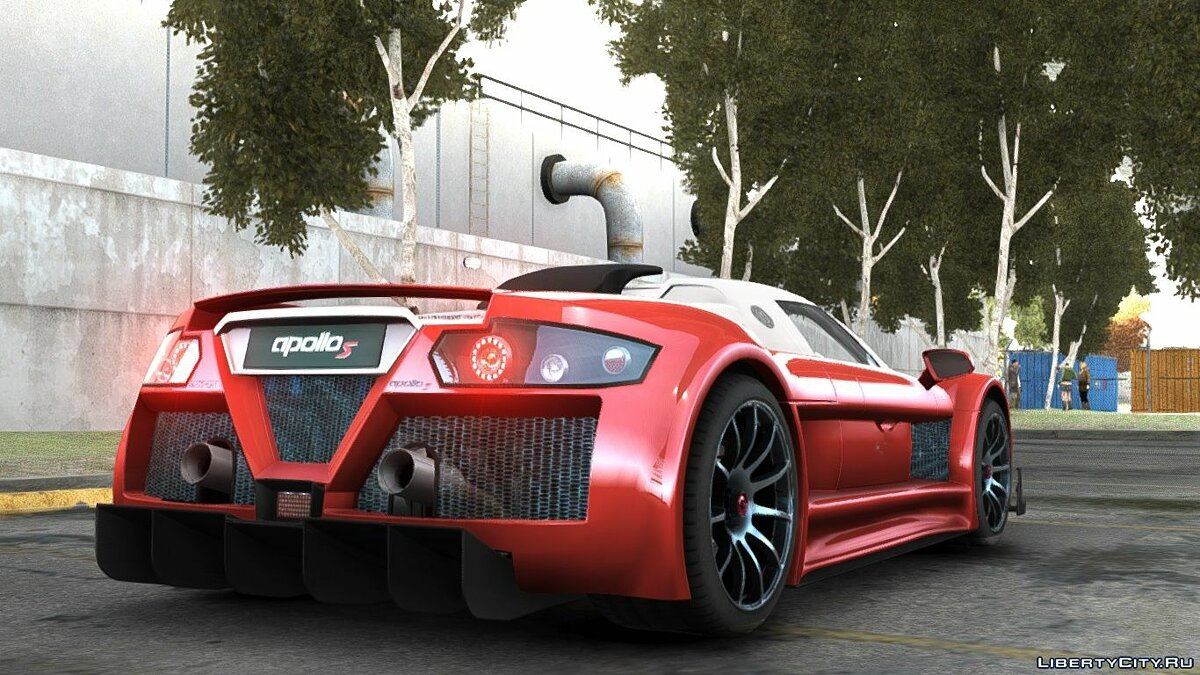Gumpert Apollo Sport 2011 (Update) для GTA 4 - скриншот #3