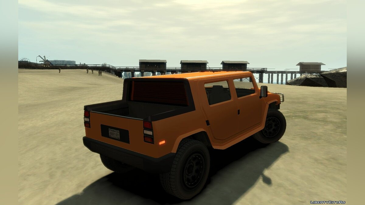 Машина Mammoth Patriot Pickup v2 для GTA 4