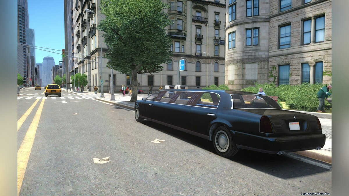 GTA V Albany Washington Stretch-Limo для GTA 4 - скриншот #2