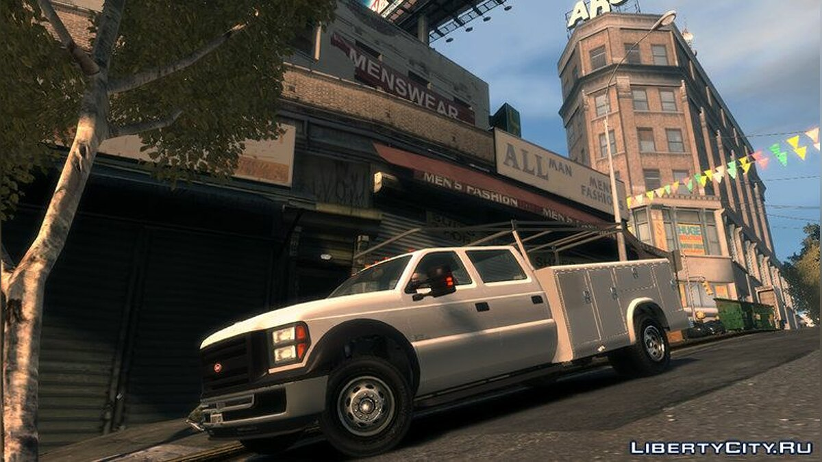 Vapid Sandking XL Utility Truck для GTA 4