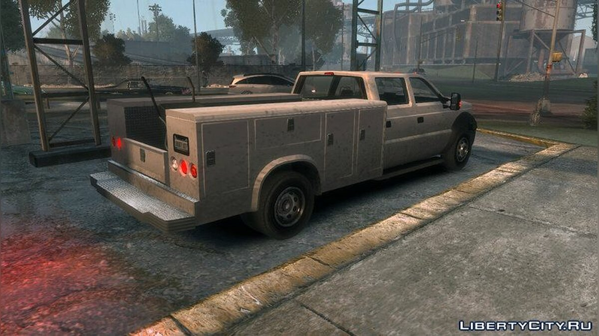 Vapid Sandking XL Utility Truck для GTA 4 - скриншот #2