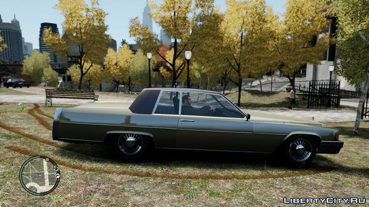 Машина GTA 4 Emperor Coupe для GTA 4