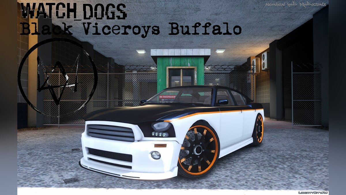 Машина Watch_Dogs Black Viceroys Buffalo для GTA 4