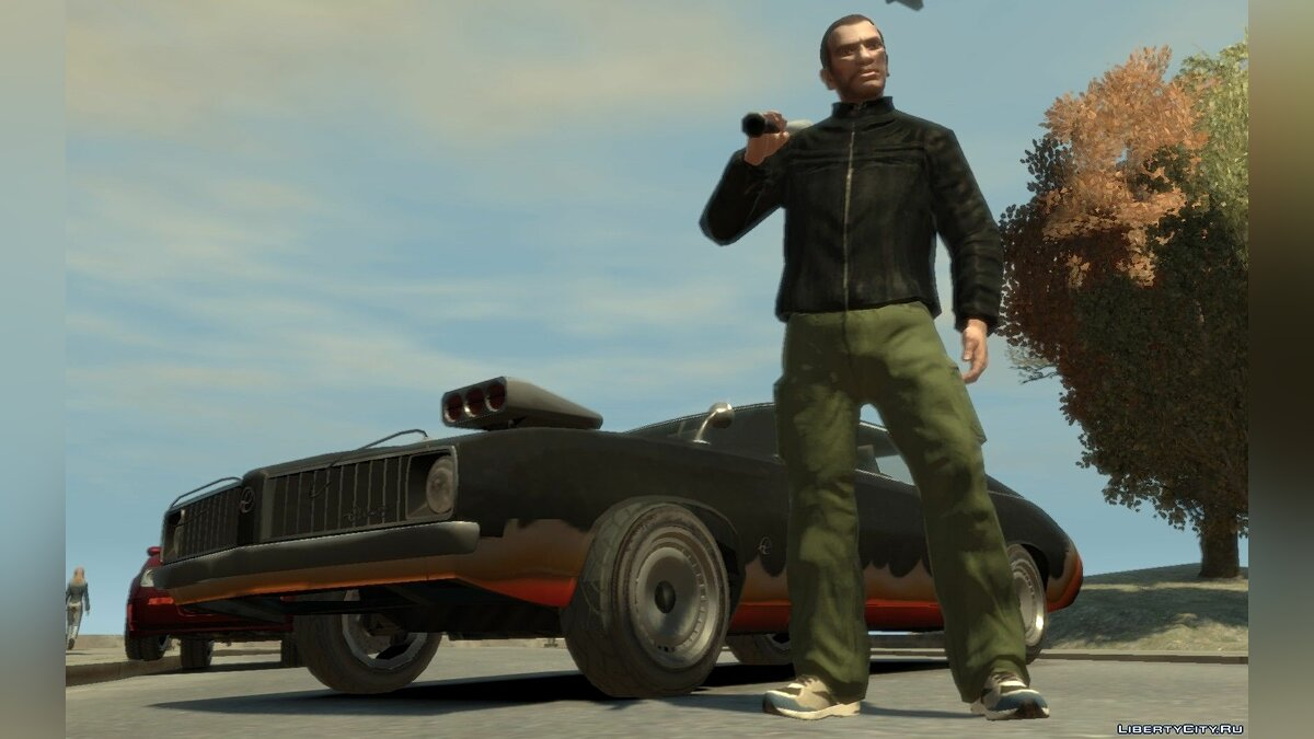 Diablo Stallion HD Universe Edition для GTA 4