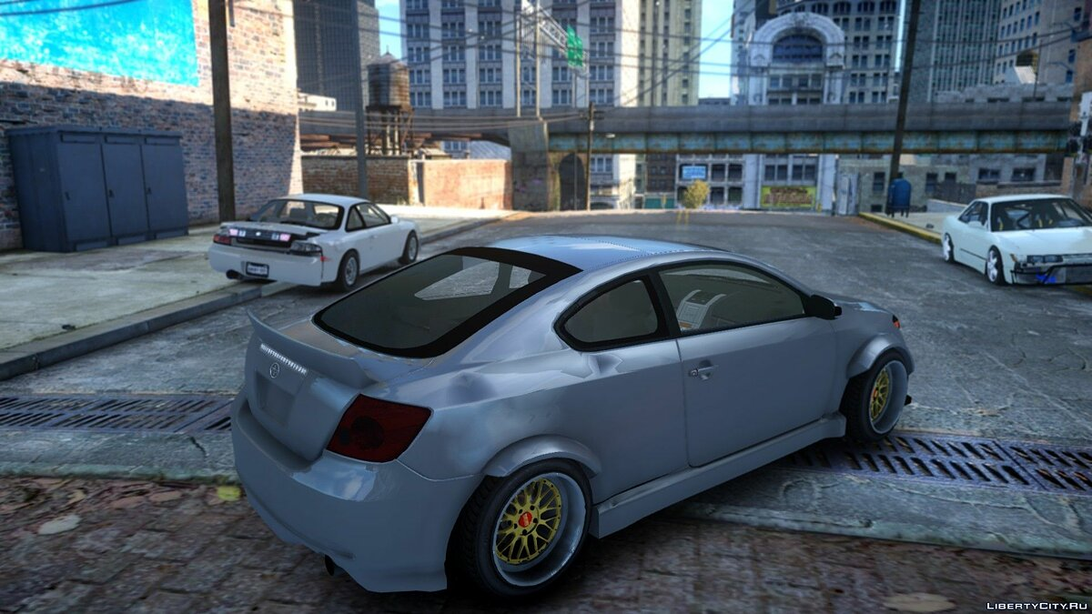 Машина Scion TC Duck Edition для GTA 4
