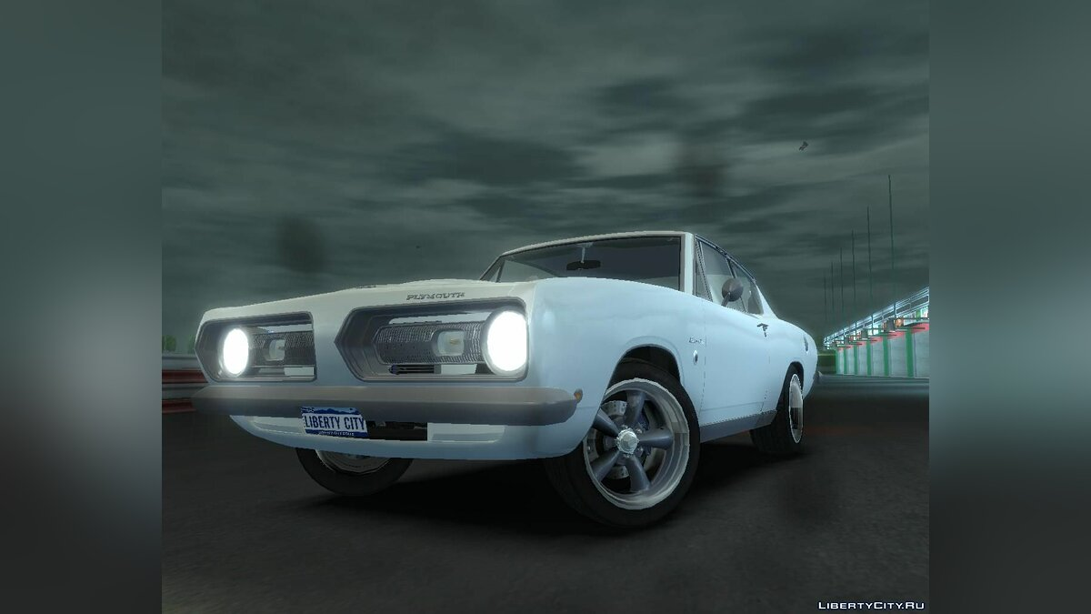 Plymouth Barracuda для GTA 4