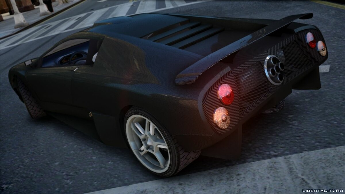 Машина Infernus Full Carbon для GTA 4