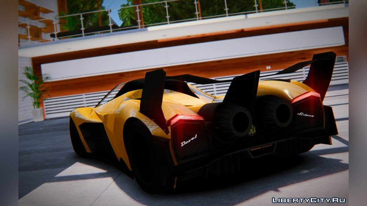 2013 Devel Sixteen Prototype для GTA 4 - скриншот #3