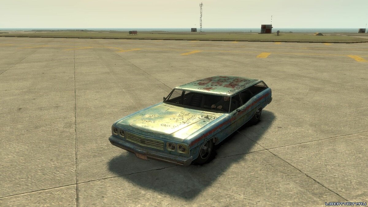 Rusty Regina from GTA V для GTA 4