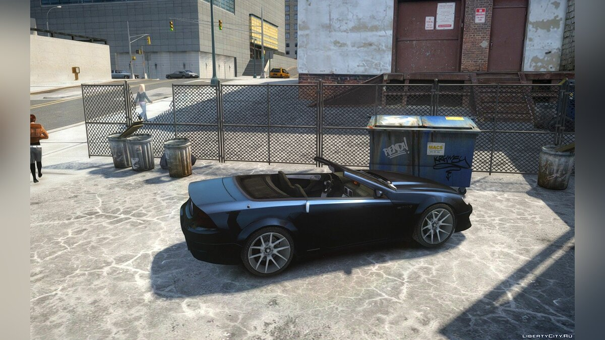 Feltzer Grey Series V3 LOD Patch для GTA 4
