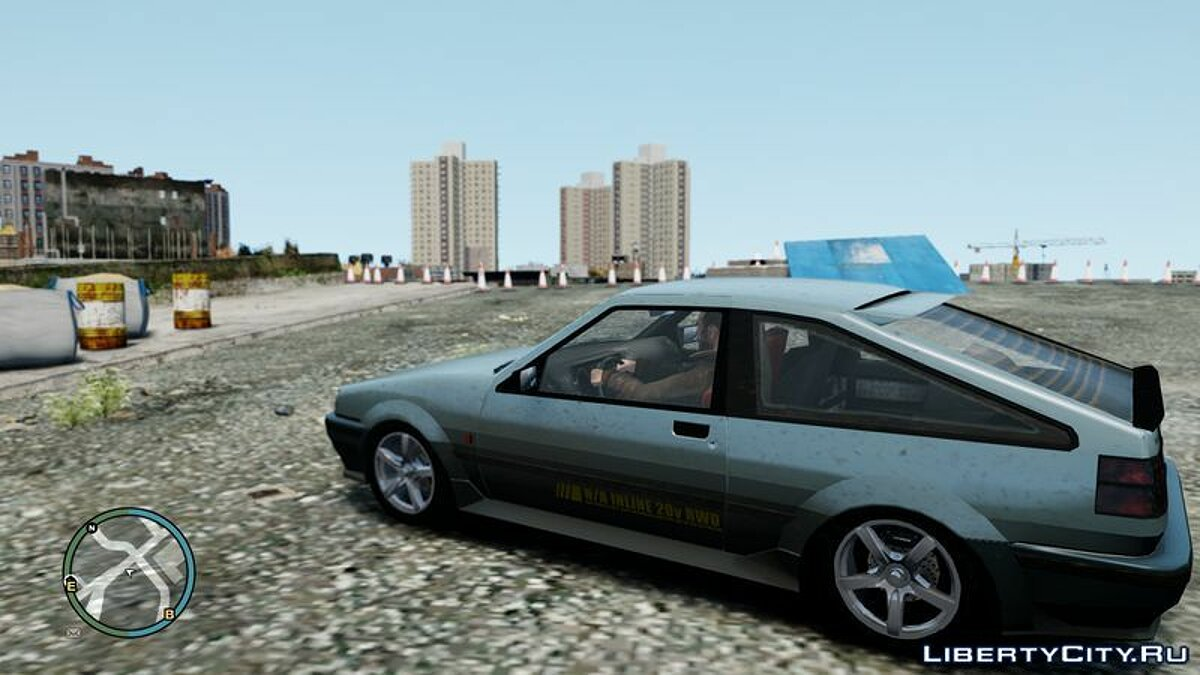 Машина GTA 4 Futo Hatchback V1 для GTA 4