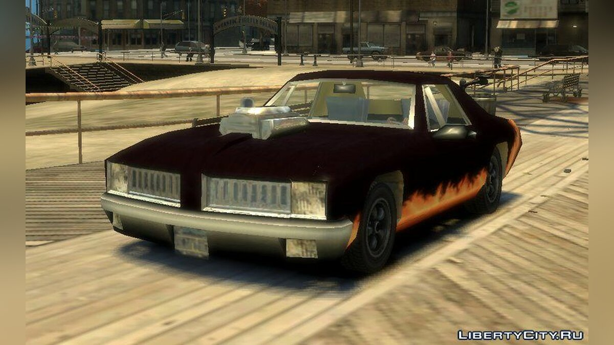 Машина Diablo Stallion (GTA 3) для GTA 4