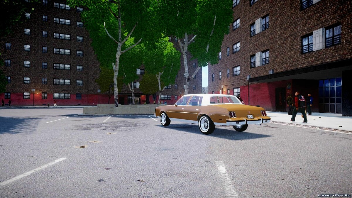 Oldsmobile Cutlass 1985 для GTA 4 - скриншот #3