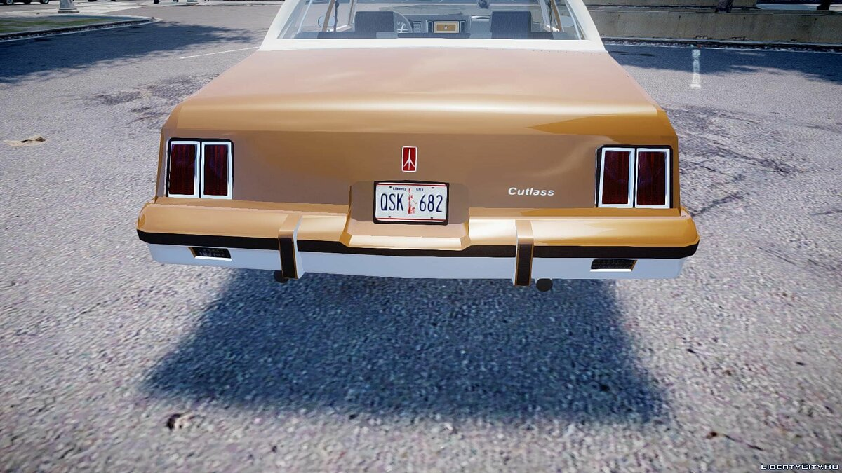 Oldsmobile Cutlass 1985 для GTA 4 - скриншот #2