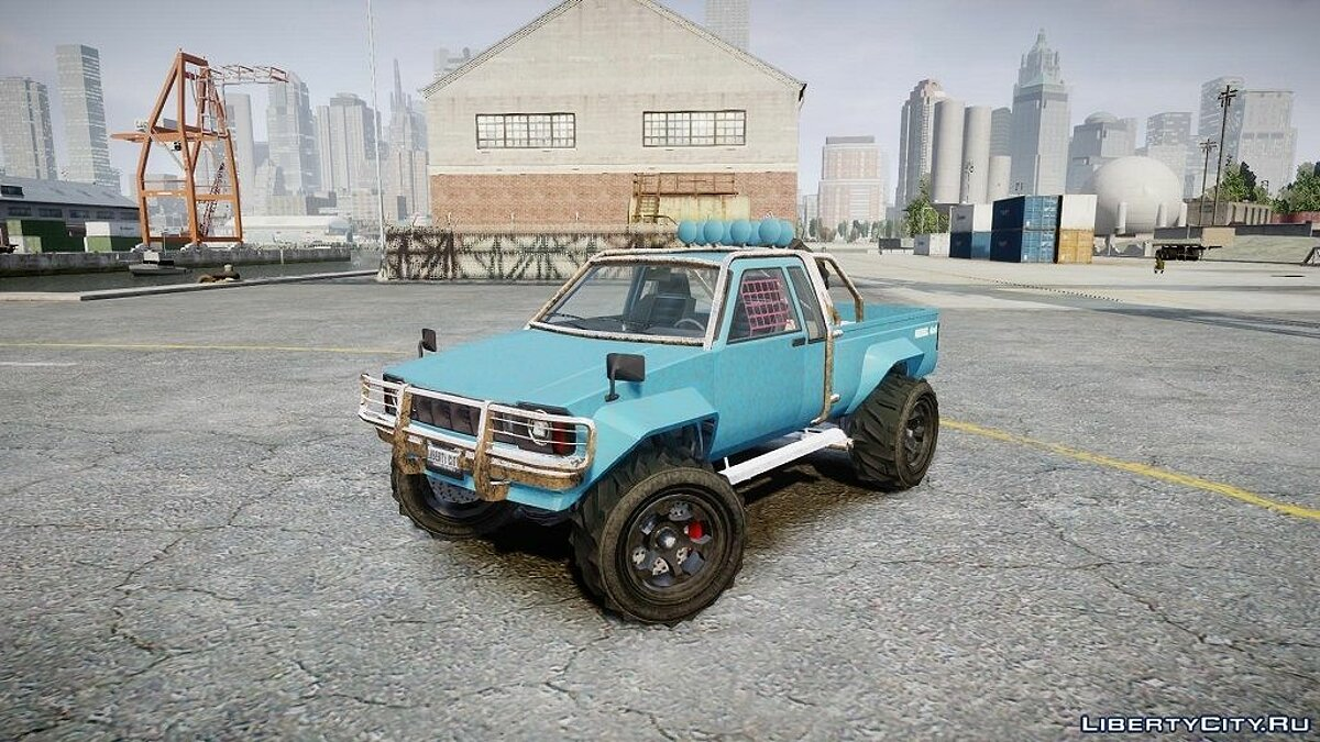 GTA V Rebel 4X4 для GTA 4