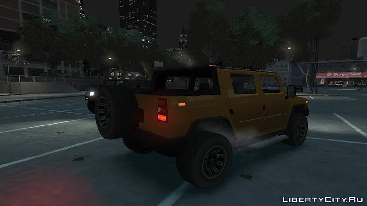 Машина Mammoth Patriot Pickup для GTA 4