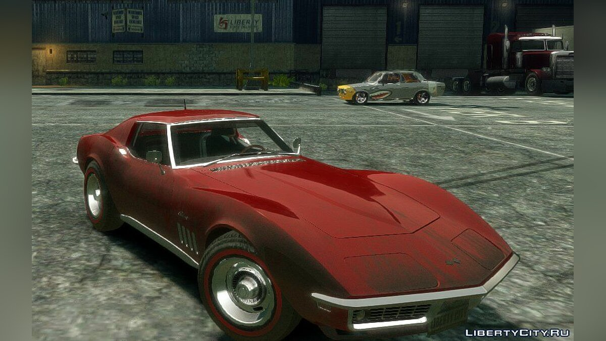 Corvette Stringray 1969 [EPM] для GTA 4