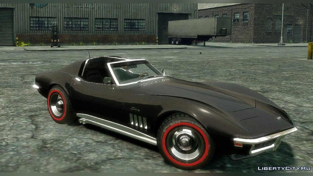 Corvette Stringray 1969 [EPM] для GTA 4 - скриншот #3