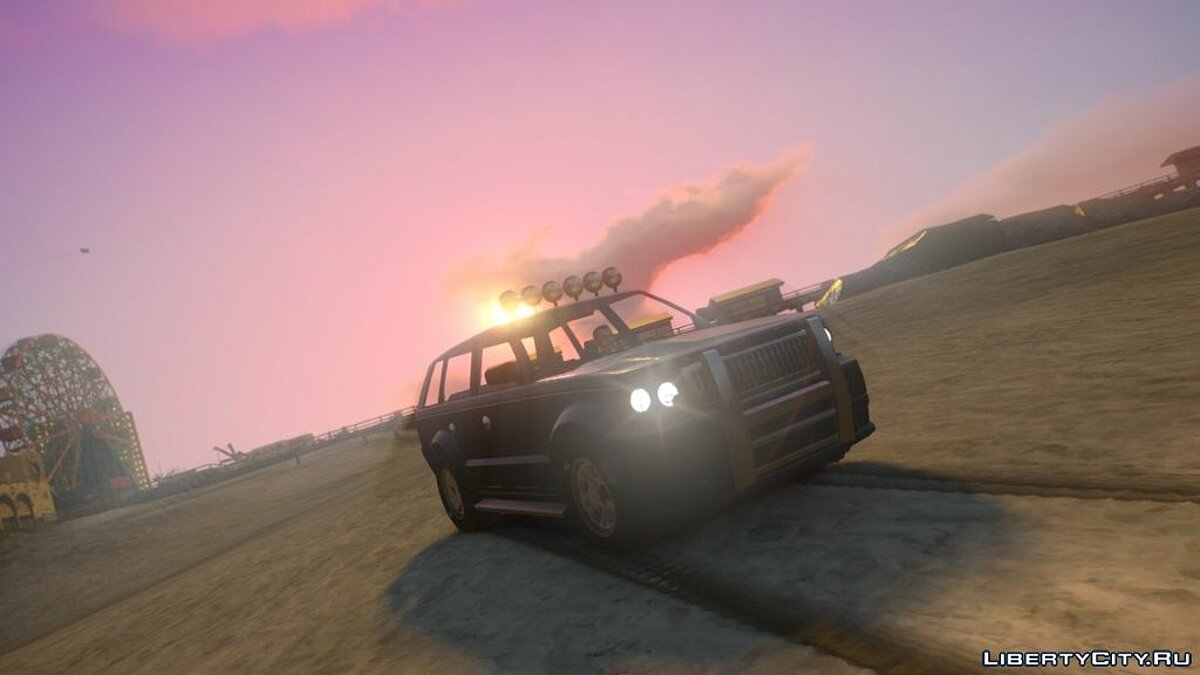 ��ашина Huntley 4x4 Offroad для GTA 4