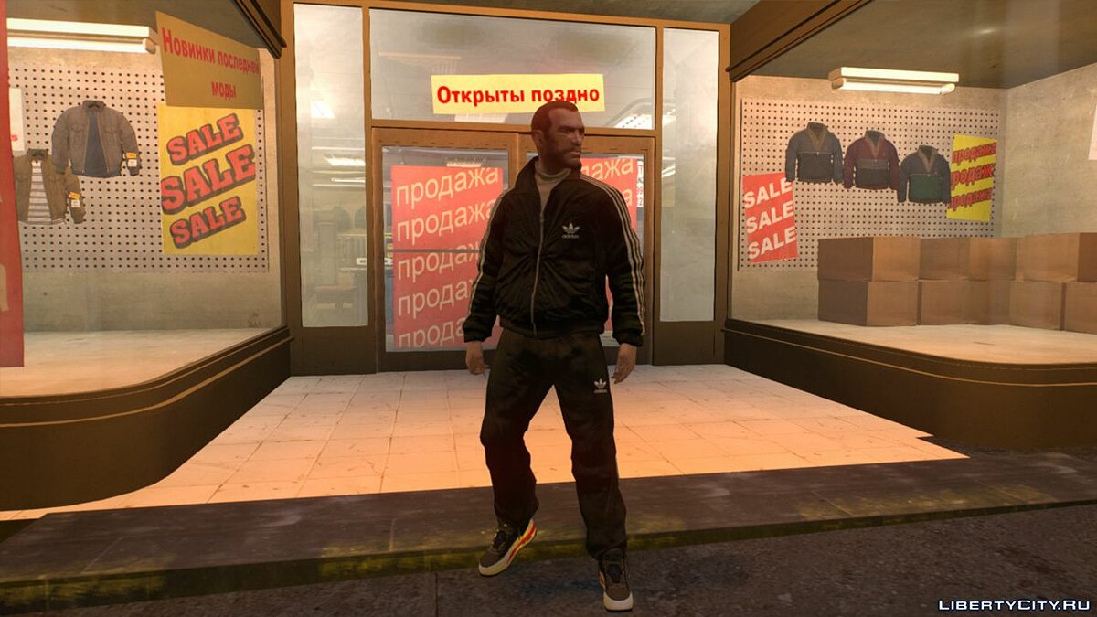 Штаны Новые Штаны (New Pants) For Niko для GTA 4