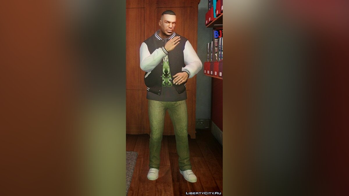 ��таны [GTA V] Franklin's jeans pack для GTA 4