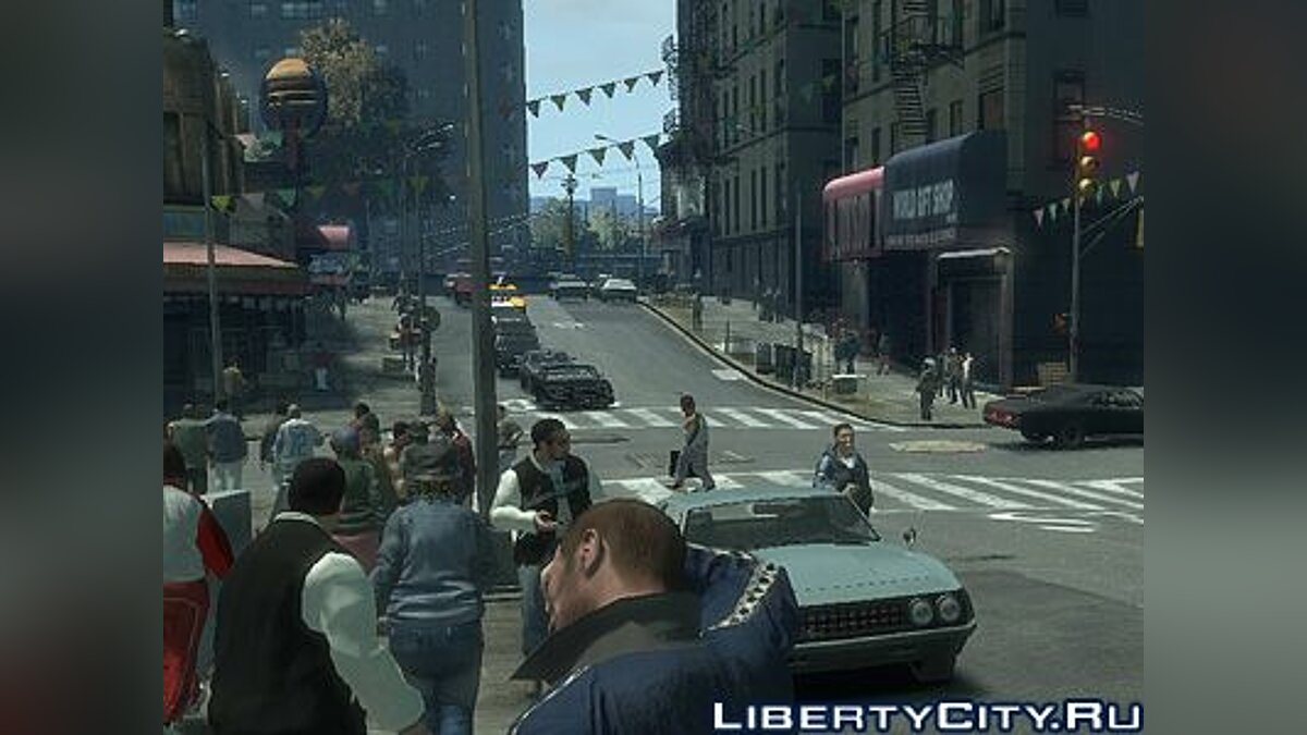Higher Peds View Distance для GTA 4