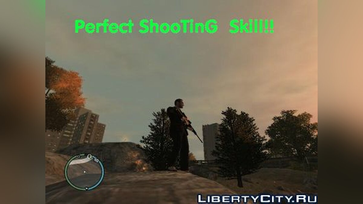Perfect Shooting skill для GTA 4