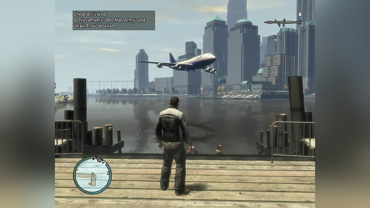 New paths for airplanes для GTA 4